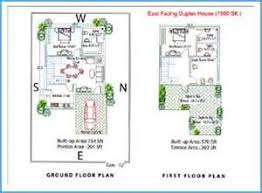 X Home Floor Plan  East Facing House Plans For x Site Home     X East Facing House Plan