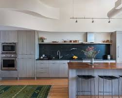 Mid-sized contemporary open concept kitchen designs - Example of a  mid-sized trendy