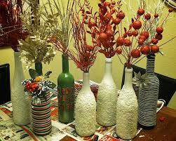Small Picture Decorations Futuristic Diy Colorful Cover Wine Bottle Vase For
