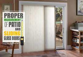 how to measure a patio screen door an