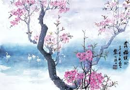 cherry blossom paint cherry x x cherry blossom painting acrylic cherry blossom painting diy