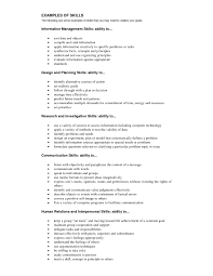 Skills And Abilities Resume Examples Example Skills And Abilities Resume Fungramco 68