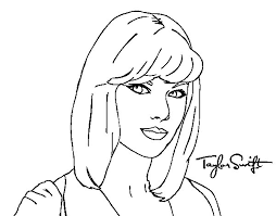 Small Picture Taylor swift celebrity coloring pages ColoringStar