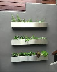 metal wall planter baskets planters home depot australia