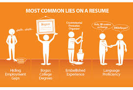 I Lied On My Resume And Got The Job Best Of The Most Common Lies People Tell On Their Resumes Business Insider