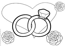 Matrimoni 13 Disegni Da Colorare 24