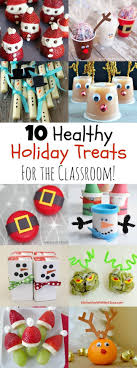 Send your kid with a healthier option for their classroom holiday party  from this round-