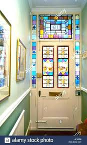 amazing stained glass exterior door for front panel contemporary modern window light insert uk french paint wood