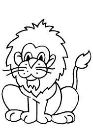 Leeuwen Kleurplaat Dieren Kleurplaat Animaatjesnl