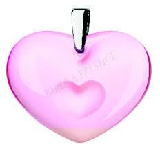 amoureuse agrave la folie pendant silver and pink crystal lalique