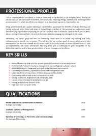 Resume For Accounting Resume Work Template