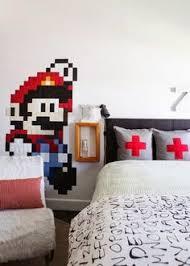 an unexpectedly chic super mario bros tween room my room