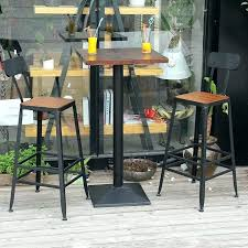 outdoor bar table and chairs. Outside Bar Table And Chairs Outdoor Chair Iron Dining Tables .