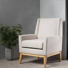aurla mid century fabric accent chair by christopher knight home com ping the best deals on living room chairs
