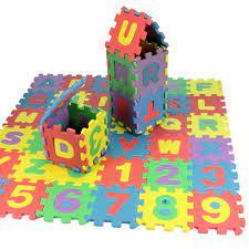 Bảng nhà cam và táo xanh chữ cái và số bằng mút xốp ráp bé trai bé gái -  Sắp xếp theo liên quan sản phẩm
