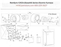 e2eb010ha nordyne electric furnace parts hvacpartstore nordyne electric furnace wiring diagram click here to view a parts listing for the e2eb010ha which includes partial wiring diagrams that we currently have available