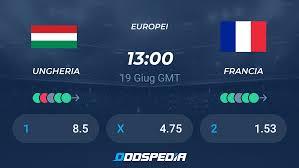 Ungheria - Francia » Risultati in Diretta, Streaming, Quote Euro 2020/21