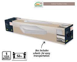 mattress in a box. sienna mattress in a box - king size mattress in box