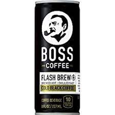 Take note, there are about five million vending machines all over japan that are ready to supply everyone with their favorite canned coffee with prices ranging from 120 to 150 yen. Boss Coffee By Suntory Japanese Flash Brew Original Black Coffee 8oz 12 Pack Imported From Japan Espresso Doubleshot Ready To Drink Keto Friendly Vegan No Sugar No Gluten No Dairy Amazon Com