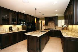 Dark Cabinets With Black Appliances Black Kitchen Cabinets