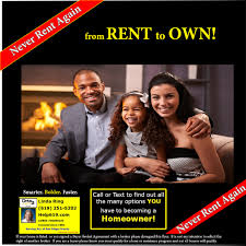 Rent To Own Homes In San Diego County California