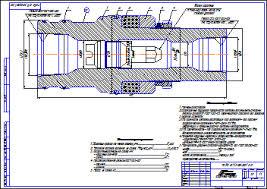 Все работы студента Клуб студентов Технарь  Подвеска НКТ 73 50 215 35 Сборочный чертеж Чертеж Оборудование для