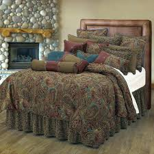 paisley comforter set bed sheets queen tommy hilfiger mission full