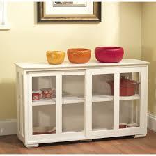 simple living glass door stackable cabinet with adjule shelf f