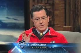 stephen colbert interview video bob costas at winter stephen colbert interview bob costas at 2010 winter olympics