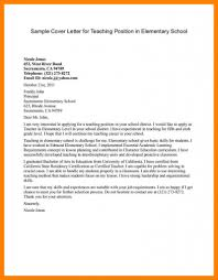 Spanish Teacher Cover Letter Training Sample Of Cv Preschool