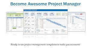 Excel Project Portfolio Management Templates Download Now