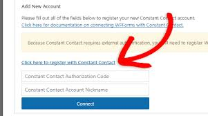 constant contact signup form how to add a constant contact signup checkbox to a wordpress form