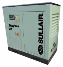 "shoptekâ""¢ screw compressors 18 75 kw 102 442 cfm sullair economic high performing shoptekâ""¢ air compressors"