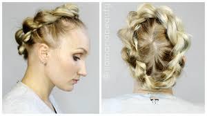 Einfache Oktoberfest Frisur Haarkranz F R Die Wiesn