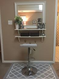 Hobby Lobby Vanity Lights Diy Make Up Vanity For Cheap Mirror From Tj Max And Wood