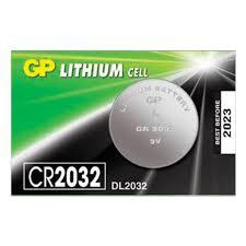 <b>Батарейка GP Lithium</b>, <b>CR2032</b>, литиевая, 1 шт., в блистере ...