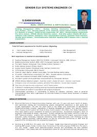 Correspondent Resume Awesome Resume SSaravanan