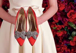 glamorous beauty red wedding shoes weddceremony com Red Wedding Heels Uk 4 spot lighted red bridal shoes (6) red wedding heels uk