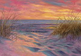 cape cod painting beach time serenade by lucie bilodeau