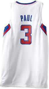 Amazon.com : NBA Los Angeles Clippers White Swingman Jersey Chris Paul #3 :  Sports Fan Jerseys : Clothing
