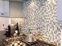 Wall Tile For Kitchen Metal Tile Backsplashes Hgtv