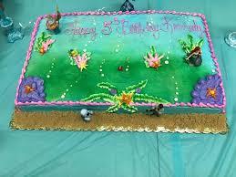 Little Mermaid Birthday Party And Little Mermaid Cake Design Nanahood