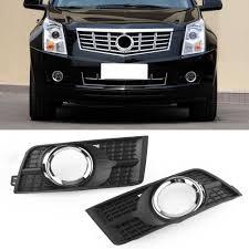 2012 Cadillac Srx Fog Lights Auto Car Front Fog Lamp Light Frame Covers Left Right Side For Cadillac Srx 2010 2011 2012 2013 2014 2015 2016