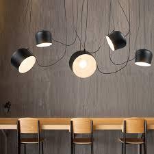 drum pendant lighting fixtures. Vintage Retro Black Drum Pendant Lights Fixtures For Dining Living Room  Industrial Decor Chambre Hanging Lamp Lustre Pendente-in From Drum Pendant Lighting Fixtures