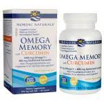 Nordic Naturals <b>Omega Memory with Curcumin</b> 60 Sgels - Swanson ...