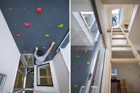 precious home rock climbing wall house in japan homemade at build for kids