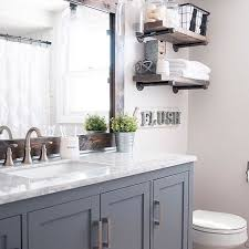 rustic chic bathroom ideas. a farmhouse bathroom done right is equal parts airy, fresh, rustic, and modern rustic chic ideas i
