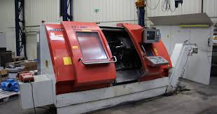 metal lathe for sale. gildemeister ctx 600 cnc inclined bed lathe metal for sale
