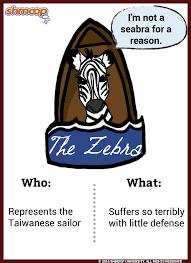 The Zebra In Life Of Pi Chart