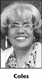 BILLIE COLES Obituary (2015) - Fort Wayne, IN - Fort Wayne Newspapers